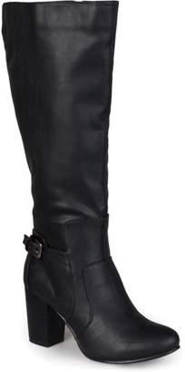 Co Brinley Women's Buckle Detail High Heeled Boots