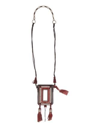 Marrakech Cigarette Case leather necklace Saint Laurent ezzSr9