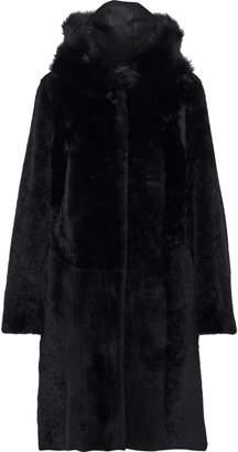 Dom Goor Reversible Shearling Coat