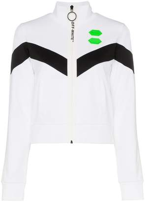 Off-White high neck logo track jacket