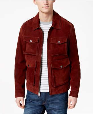Michael Kors Men's Suede Utility Jacket