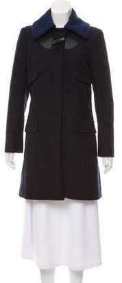See by Chloe Knee-Length Long-Sleeve Coat