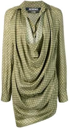 Jacquemus Saabi draped dress