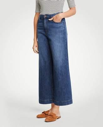 Ann Taylor Wide Leg Jeans