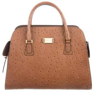 Michael Kors Embossed Leather Handle Bag