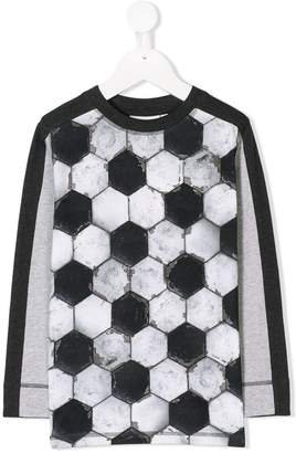 Molo football print longsleeved T-shirt