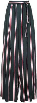 Tome vertical stripe palazzo trousers