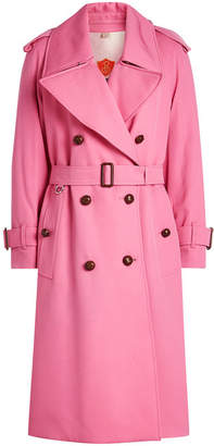 Burberry Regina Wool Trench Coat