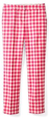 Boden Richmond Polka Dot Stripe Contrast Ankle Pants