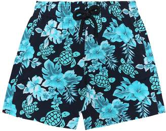 Vilebrequin Kids Jirise printed swim trunks