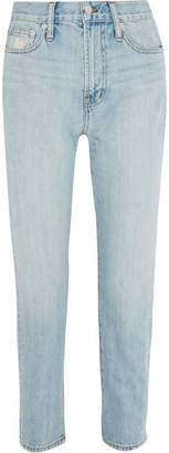 Madewell The Perfect Summer High-rise Straight-leg Jeans - Light blue
