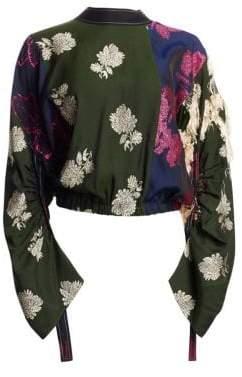 3.1 Phillip Lim Patchwork Floral Blouse