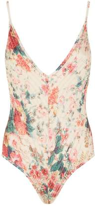 Zimmermann Laelia Floral Swimsuit