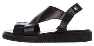 Kris Van Assche Leather Strap Sandals