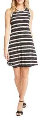 Karen Kane Striped-Print A-Line Dress