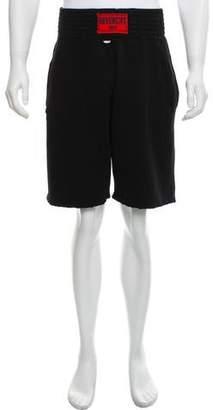 Givenchy Distressed Boxing Shorts