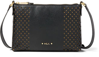 Ralph Lauren Lauren Perforated Tasmine Crossbody $98 thestylecure.com