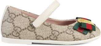 Toddler GG Supreme ballet flat $260 thestylecure.com