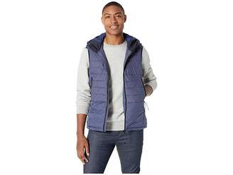 Scotch & Soda Hooded Bodywarmer in Mix and Match Felpa and Nylon Quality