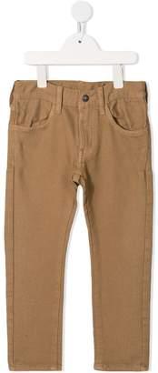 Denim Dungaree slim-fit trousers