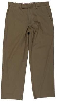 Etro Flat Front Woven Pants