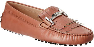 Tod's TodS Double T Gommino Leather Driving Shoe