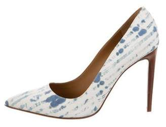 Ralph Lauren Printed Pointed-Toe Pumps