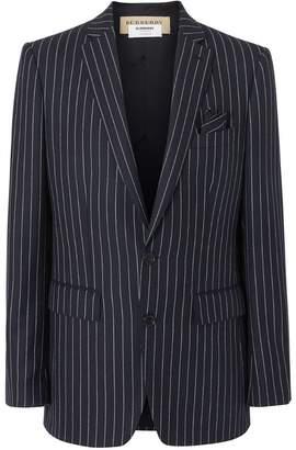 Burberry pinstripe blazer jacket