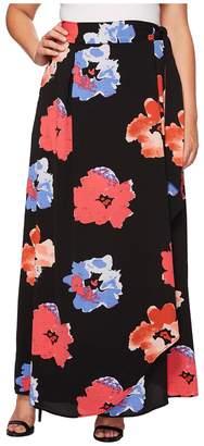 Kiyonna Celine Chiffon Maxi Skirt Women's Skirt