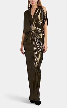 Zero Maria Cornejo Women's Miu Metallic Gown - Vintage Gold