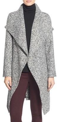 Women's Bebe Tweed Wrap Coat $168 thestylecure.com