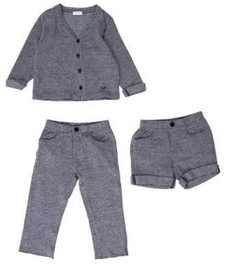 Il Gufo Boys' Three Piece Cardigan Set