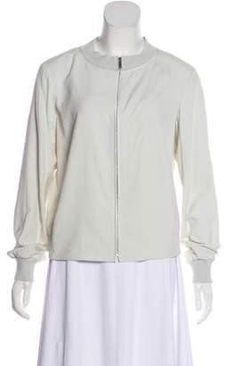 Lafayette 148 Lightweight Silk Jacket