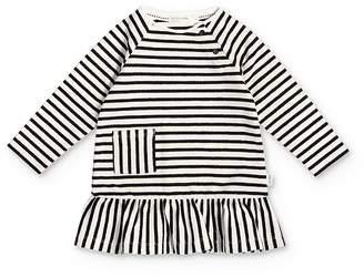 Miles Baby Girls' Striped Pocket Dress - Baby
