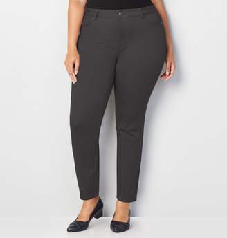 Avenue Butter Denim Skinny Jean in Grey