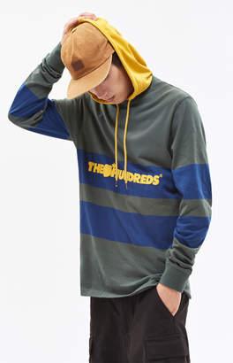 The Hundreds Ridge Hooded Long Sleeve T-Shirt