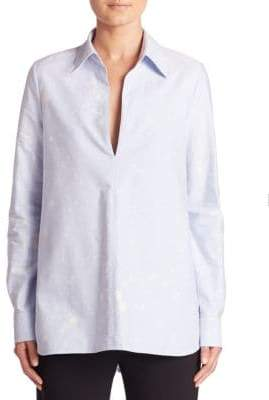 Alexander Wang A-Line Cotton Tunic Shirt