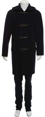 Marc Jacobs Cashmere Hooded Peacoat