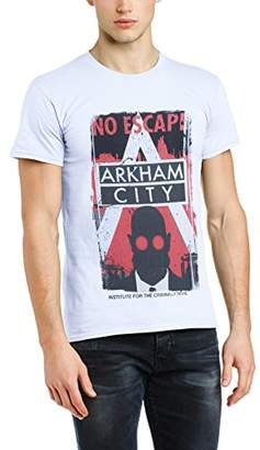 In Fit manga Limited Brands cuello camiseta Men's redondo corta Regular Arkham Sdwnq6C