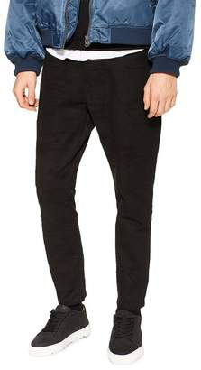 Topman Camouflage Tapered Trousers