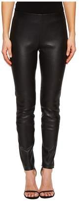 Escada Sport Lalegia Lamb Leather Pants Women's Casual Pants
