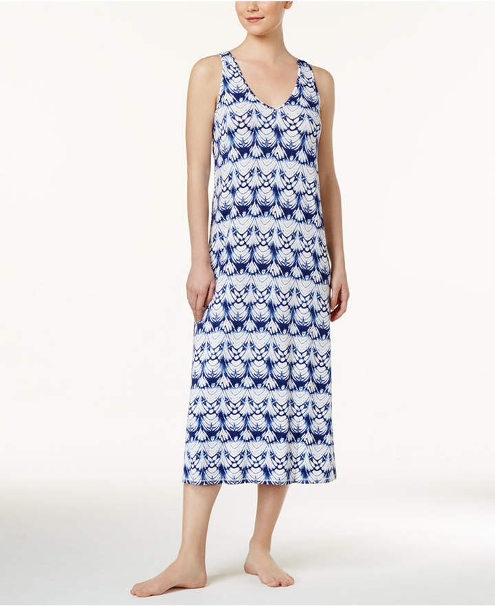 Alfani Alfani Racerback Printed Knit Nightgown, Only at Macy's