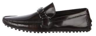 Louis Vuitton Leather Driving Loafers