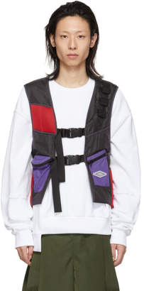 D.gnak By Kang.d Black Buckle Back Vest