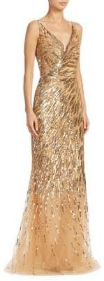 Ahluwalia Rosiers Sequin Gown