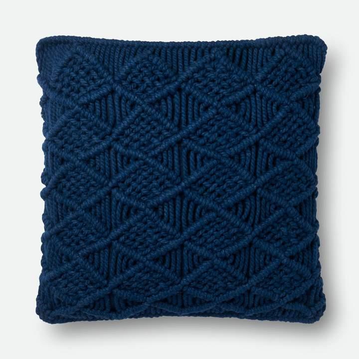 Magnolia Home Taylor Navy Pillow