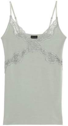 By Malene Birger Lace-trimmed Modal-blend Camisole