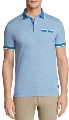 Ted Baker Pedro Striped Regular Fit Polo Shirt - 100% Exclusive