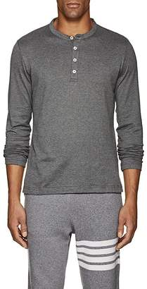 Eleventy Men's Cotton Long-Sleeve Henley