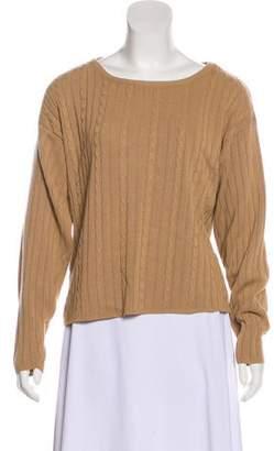 Halston Long Sleeve Lightweight Sweater